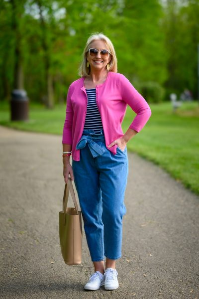 Styling Paperbag Waist Jeans