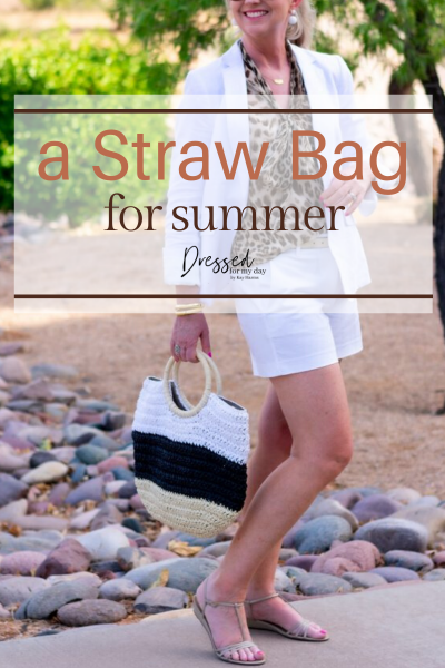 a Straw Bag for Summer