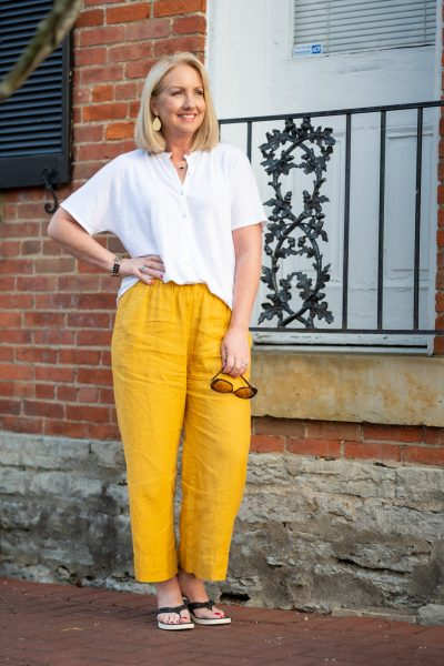 Relaxed Linen Outfit