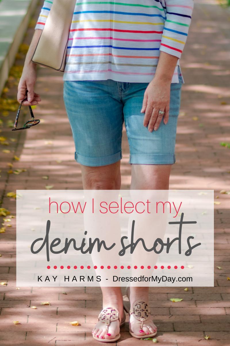 How I Select My Denim Shorts