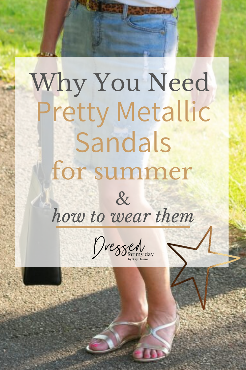 Why you need pretty metallic sands for summer