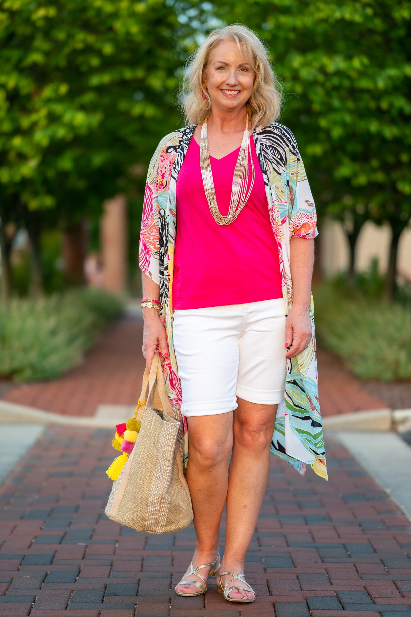 cool colorful separates from chico's