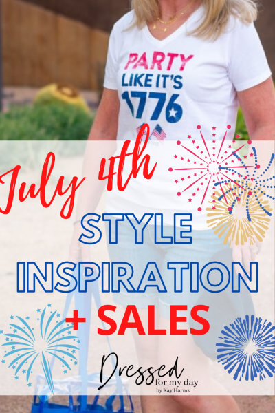 July 4th Style Inspiration + Sales
