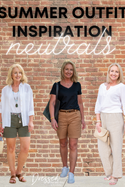 Summer Outfit Inspiration Neutrals
