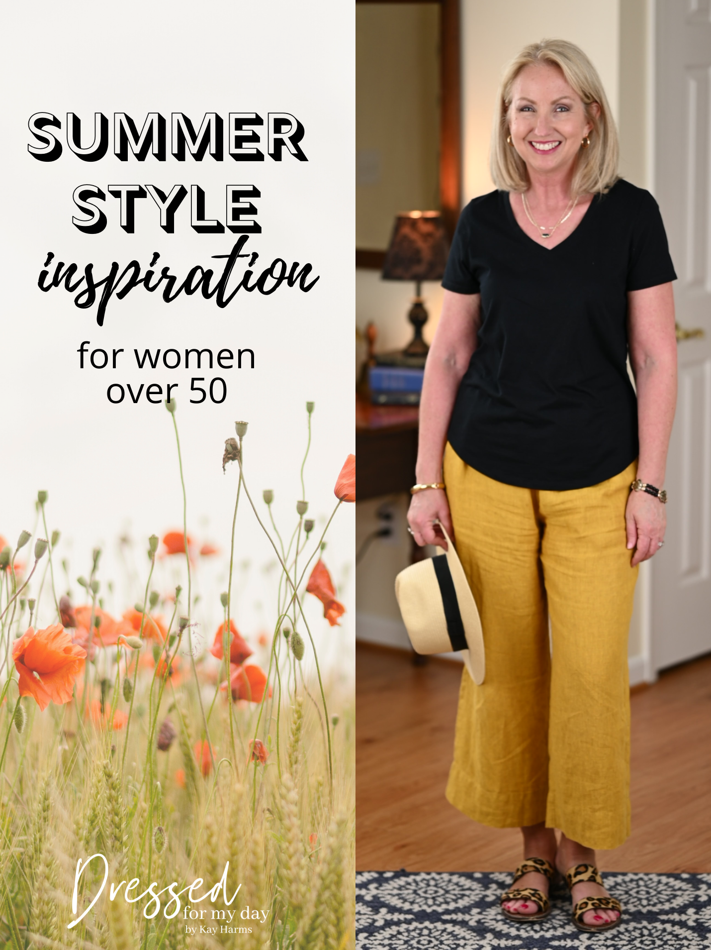 Summer Style Inspiration Over 50