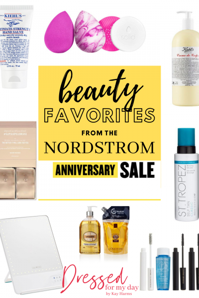 my beauty favorites from the Nordstrom Anniversary Sale