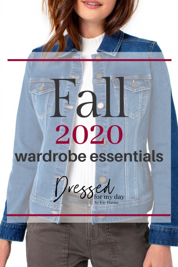 Fall 2020 Wardrobe Essentials