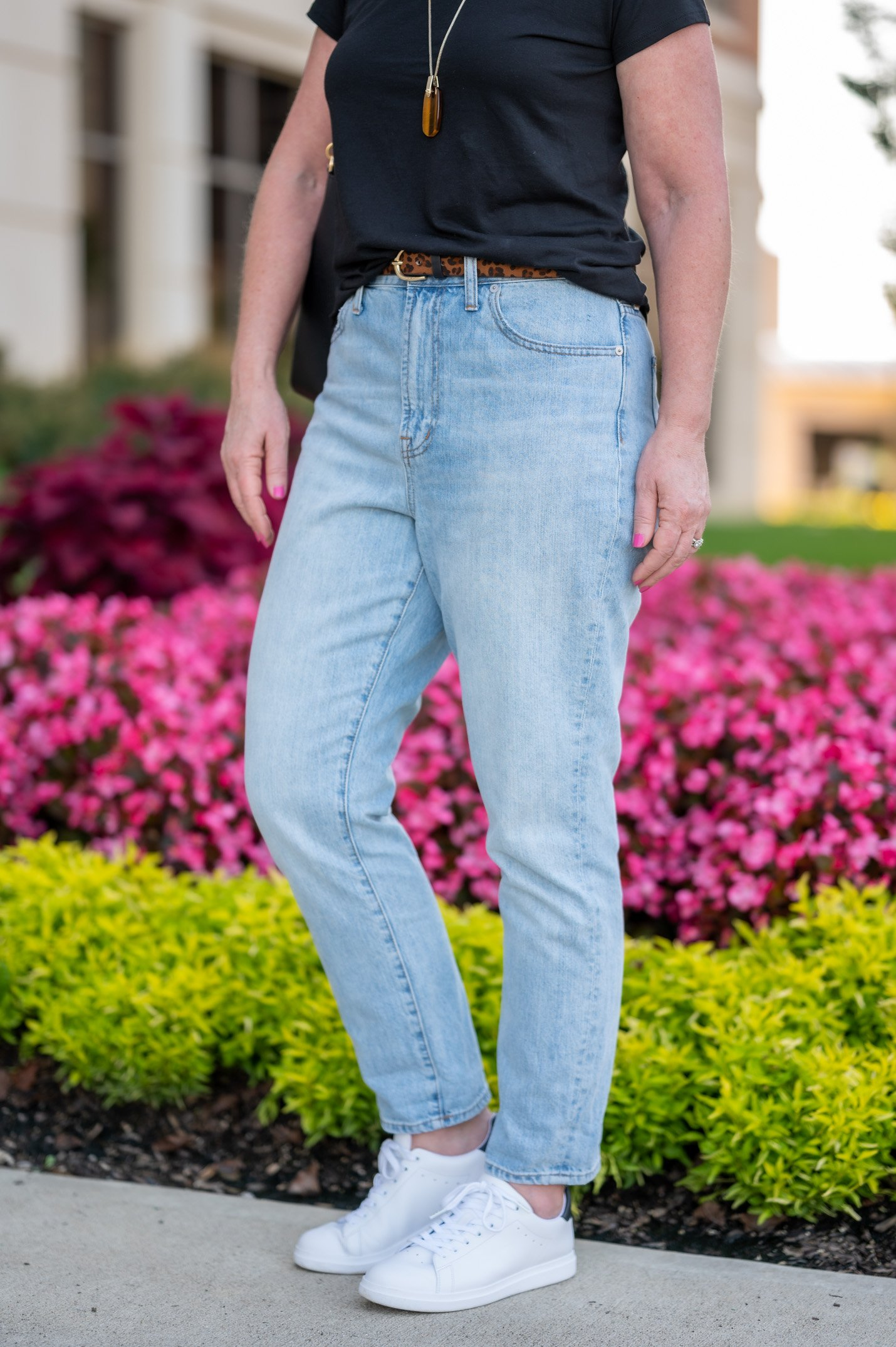 Summertime Uniform with Jeans