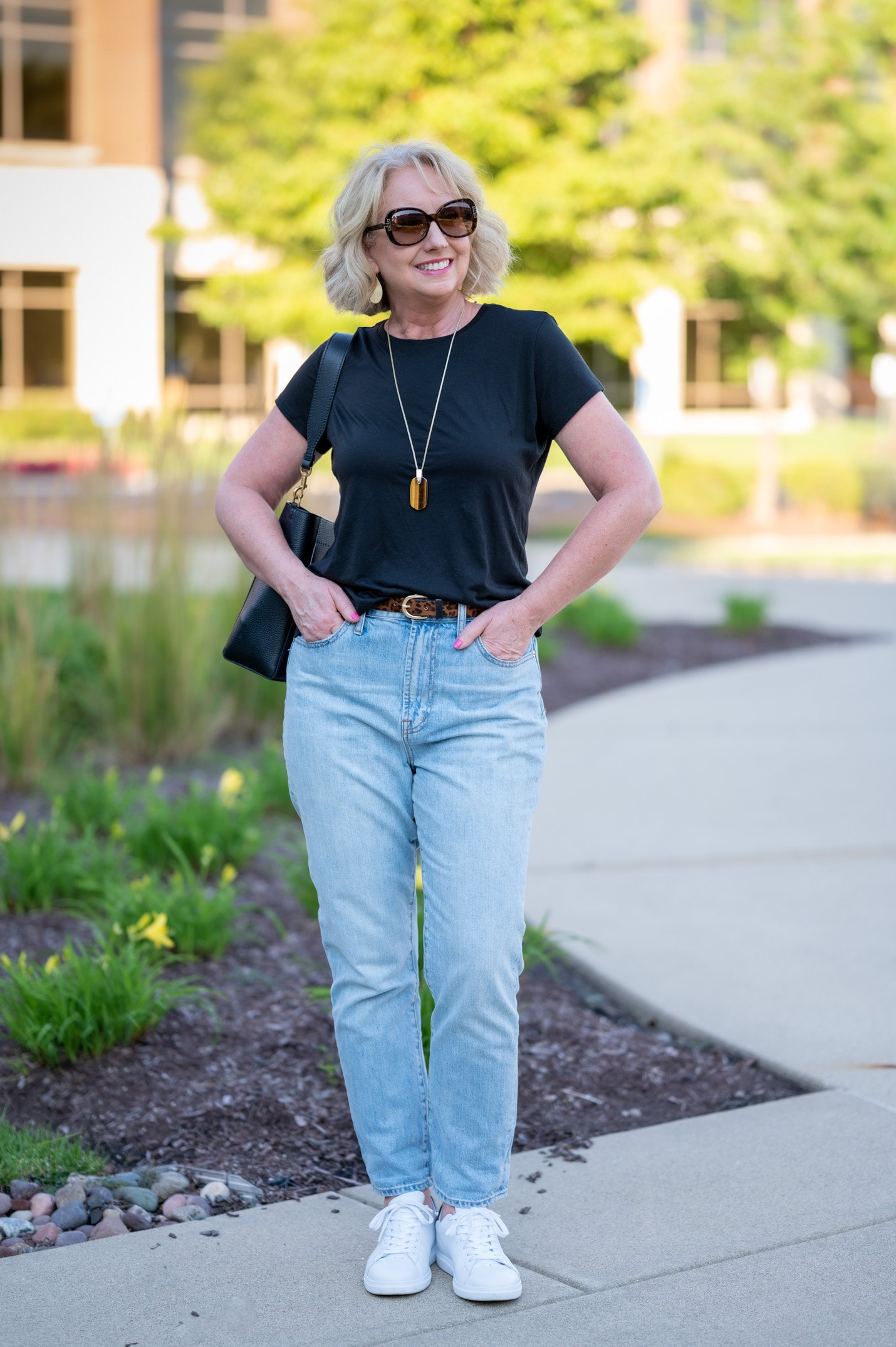 Summertime Elevated Casual Jeans Style Uniform