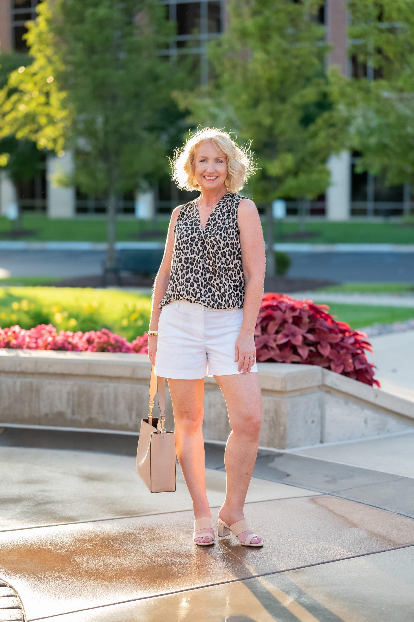Wear Now Leopard Print Blouse