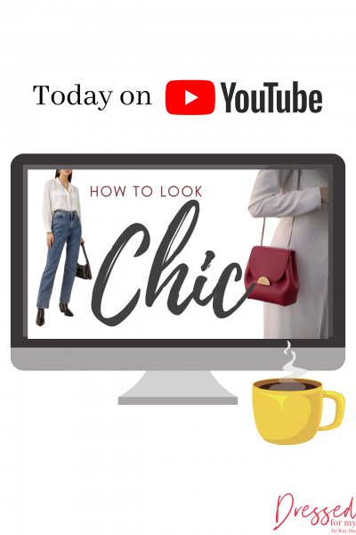 How to Look Chic blog Post