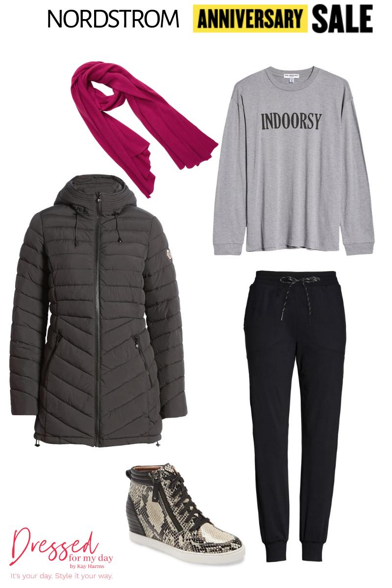 joggers & Coat