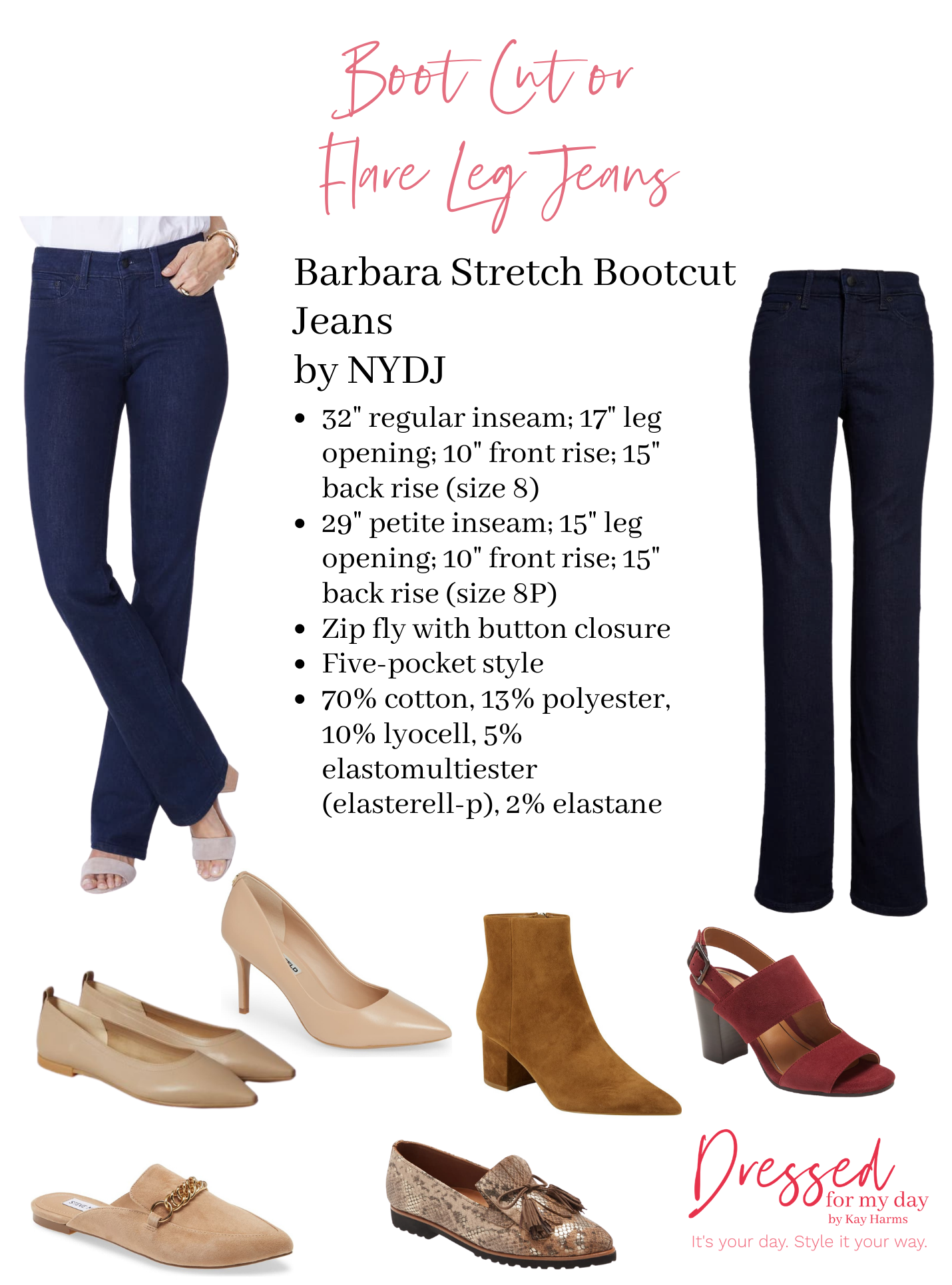 Shoes to Wear with Bootcut Jeans