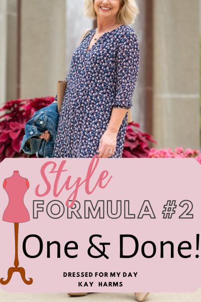One & Done Style Formula