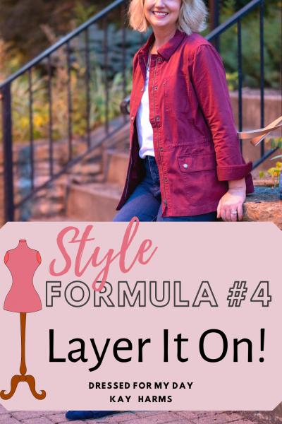 Style Formula 4 Layer It On