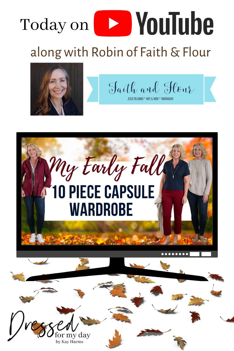 Early Fall Capsule Wardrobe
