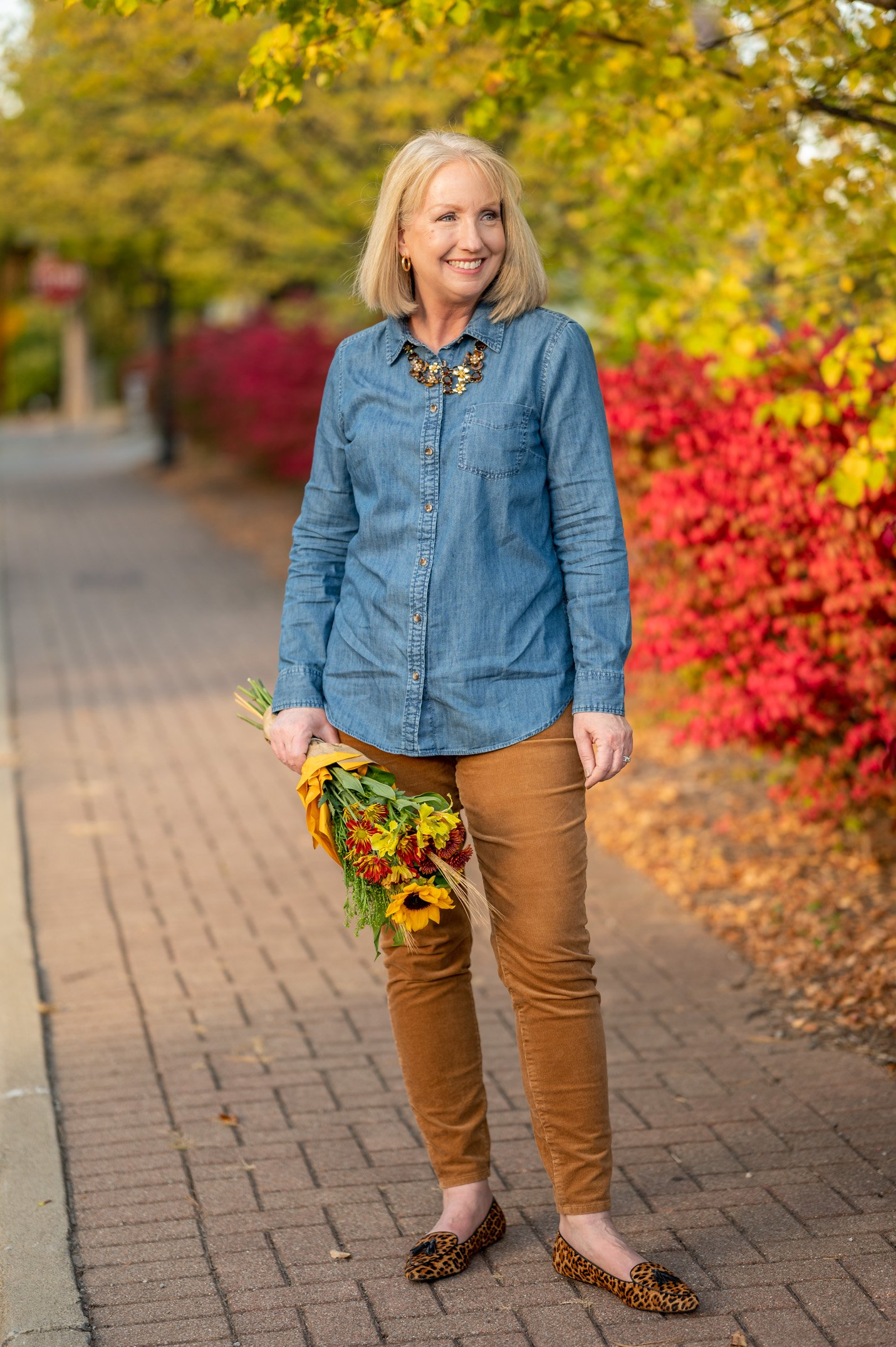 2 Fall classics worn 4 ways with Talbots