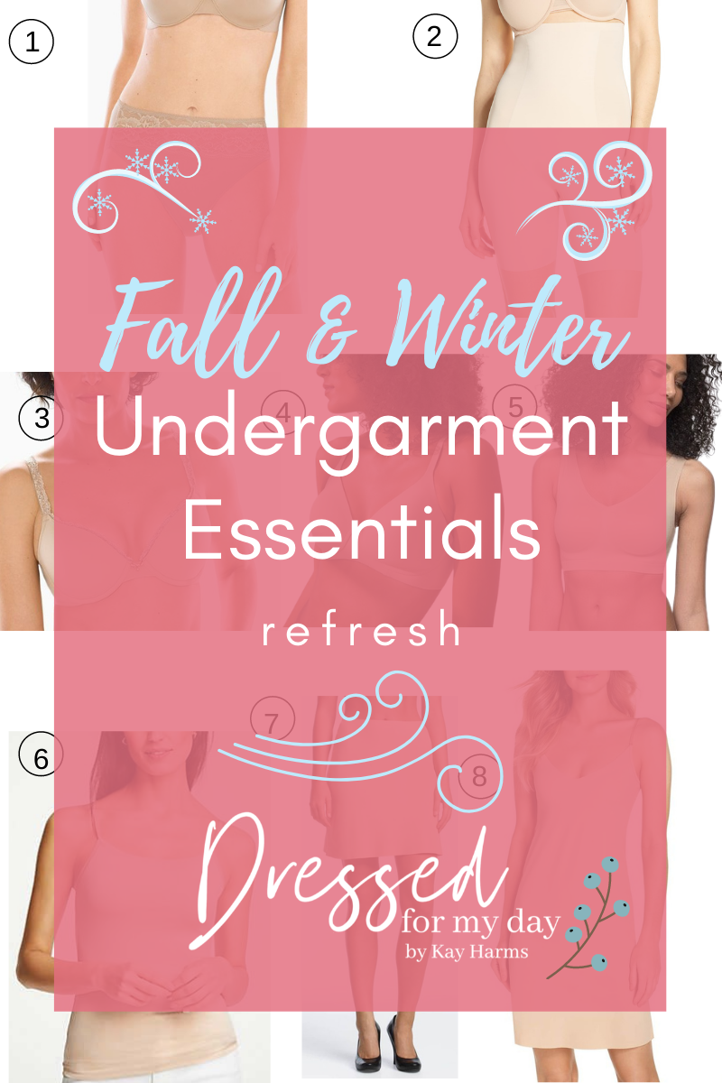 Fall and Winter Undergarment Essentials Refresh