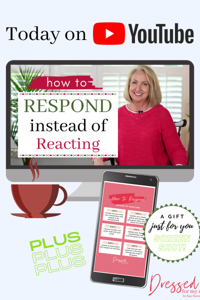 How to Respond Instead of Reacting