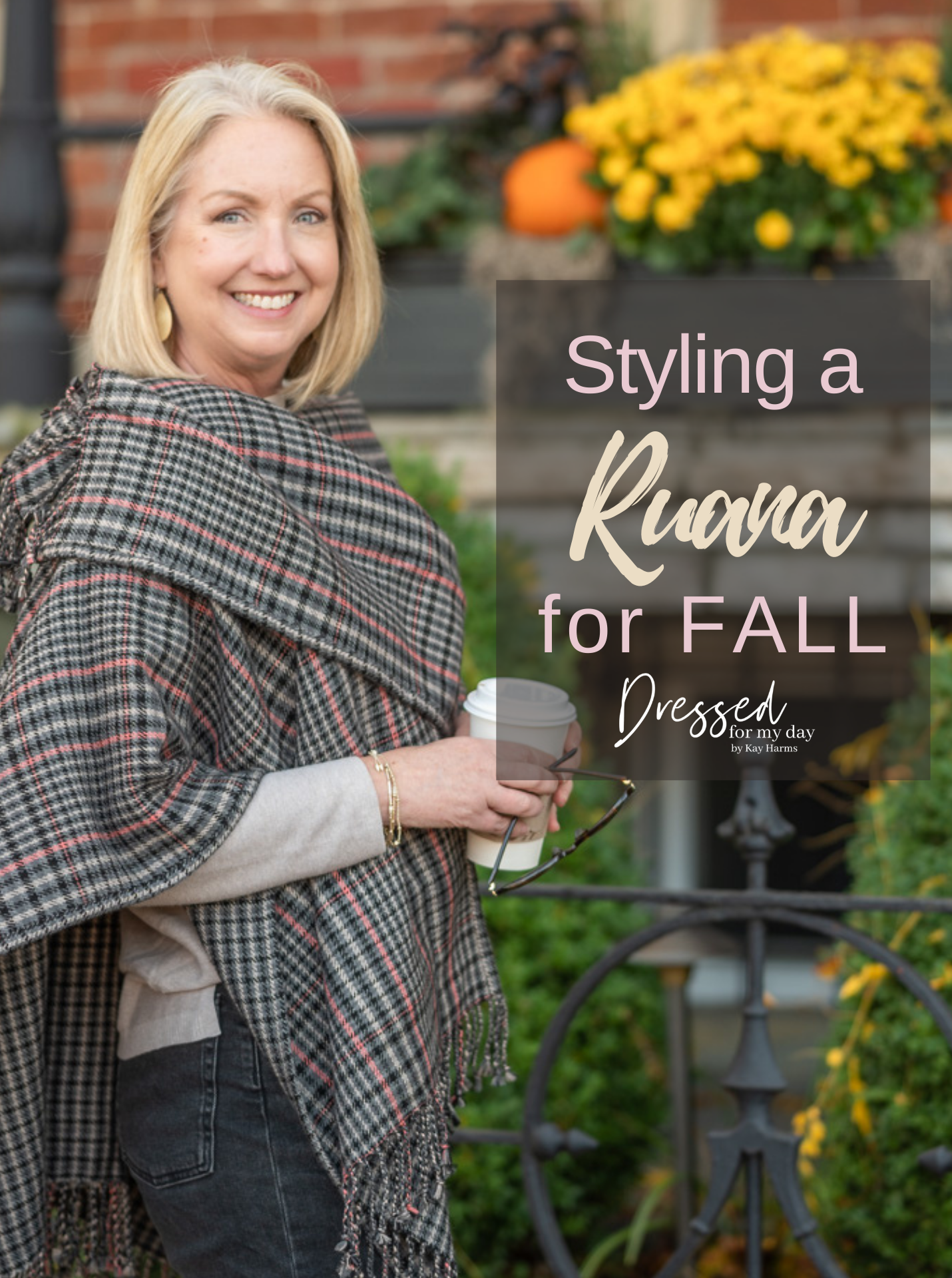 Styling a Ruana for Fall