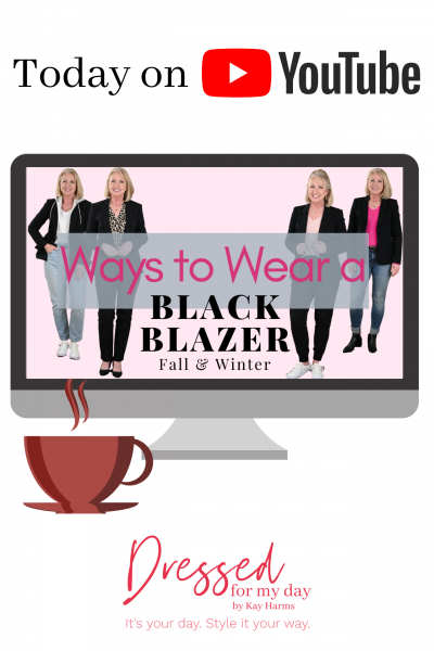 Ways to Wear a Black Blazer this Fall & Winter