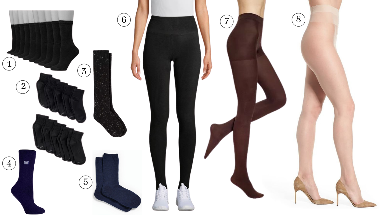 hosiery for fall and winter