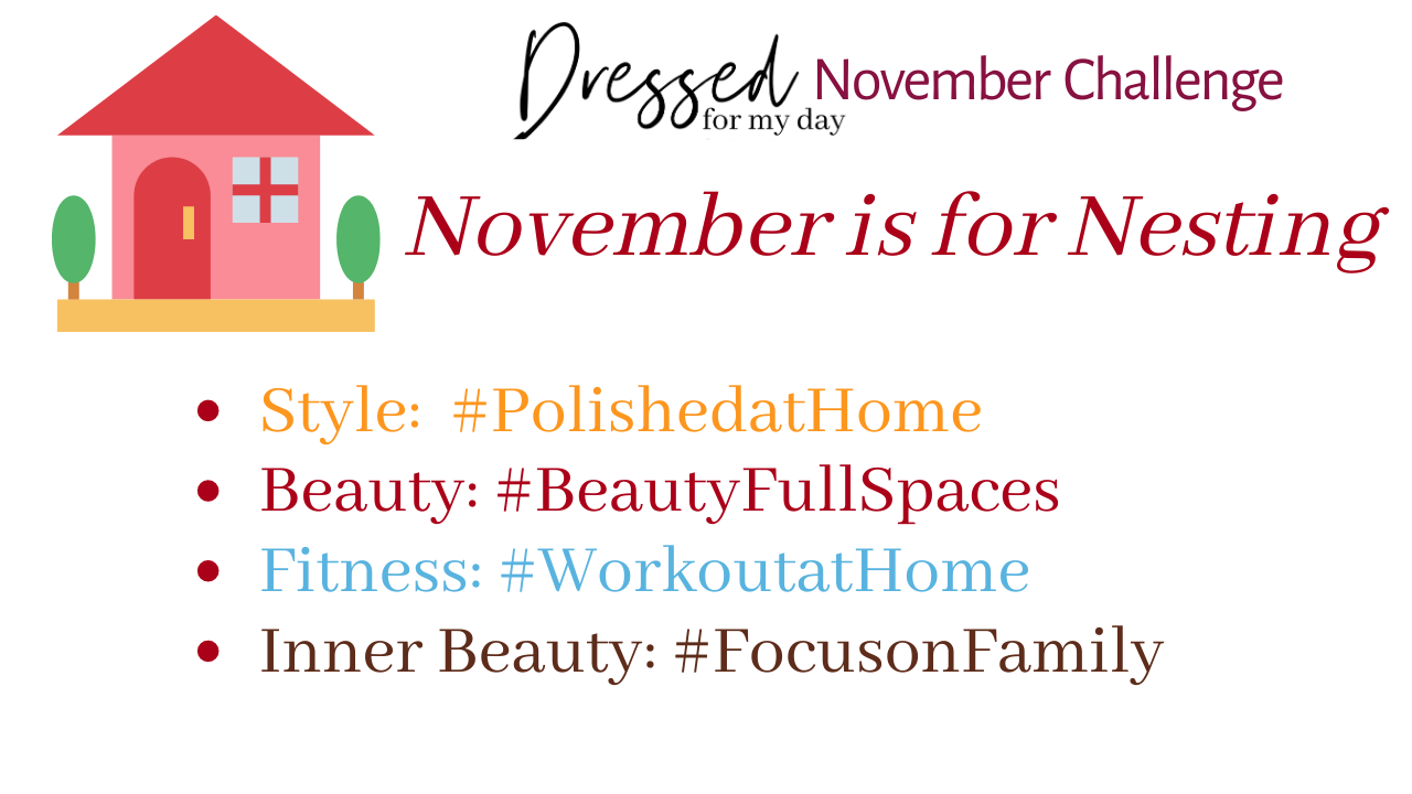 November Challenge Hashtags
