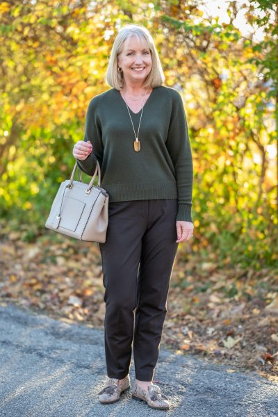 Ponte Pants Outfit
