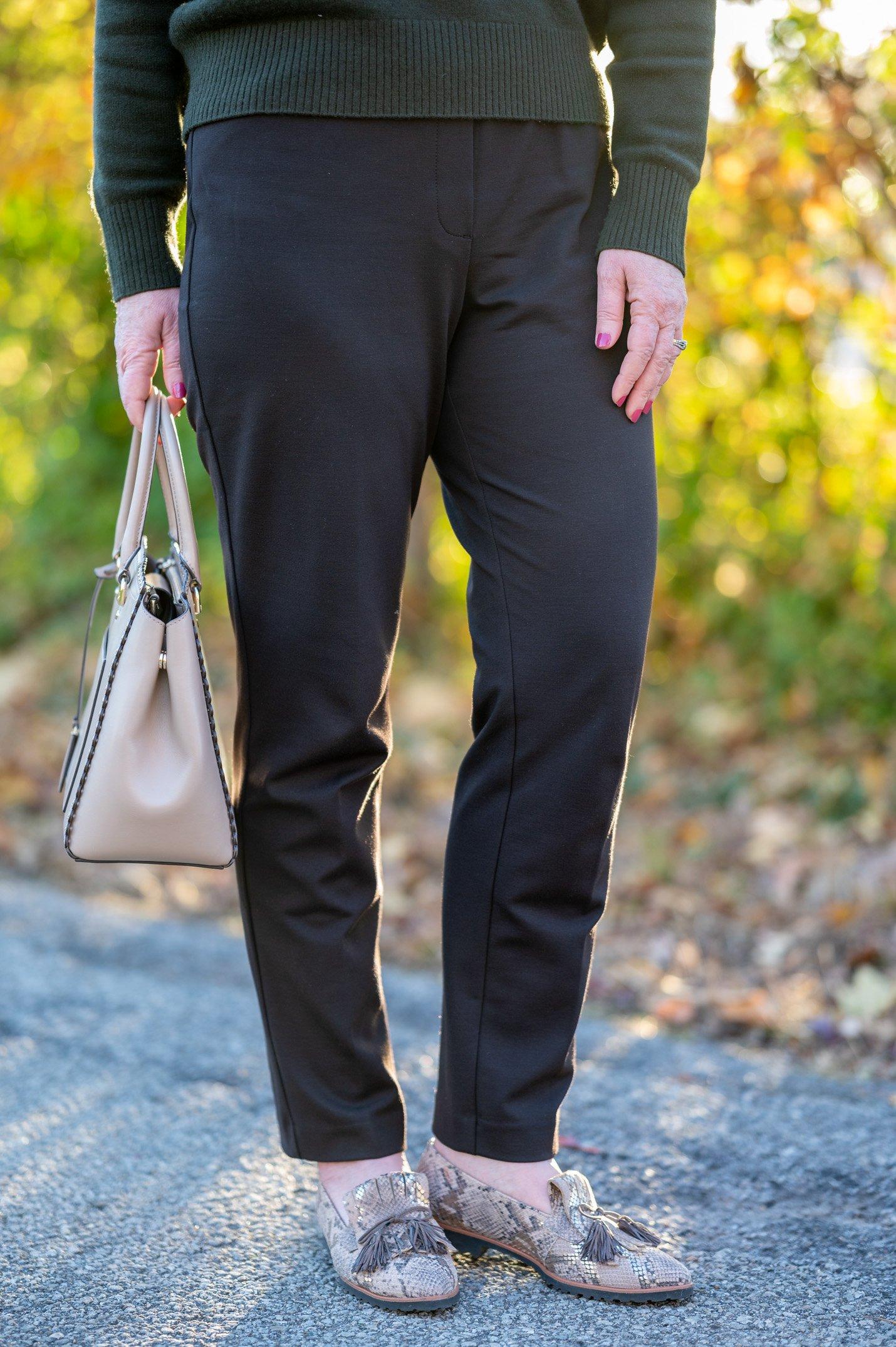 Ponte Knit Pants