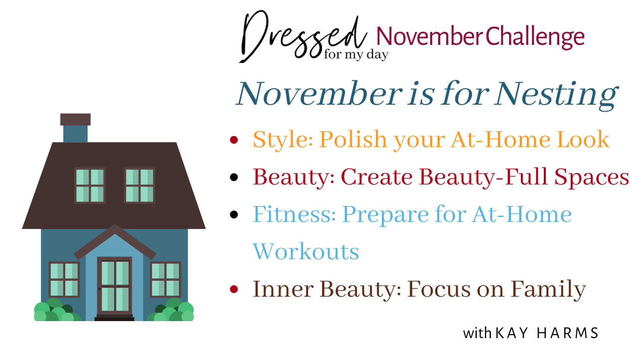 November Challenge - November is for Nesting