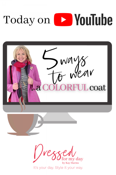 5 Ways to Wear a Colorful Coat