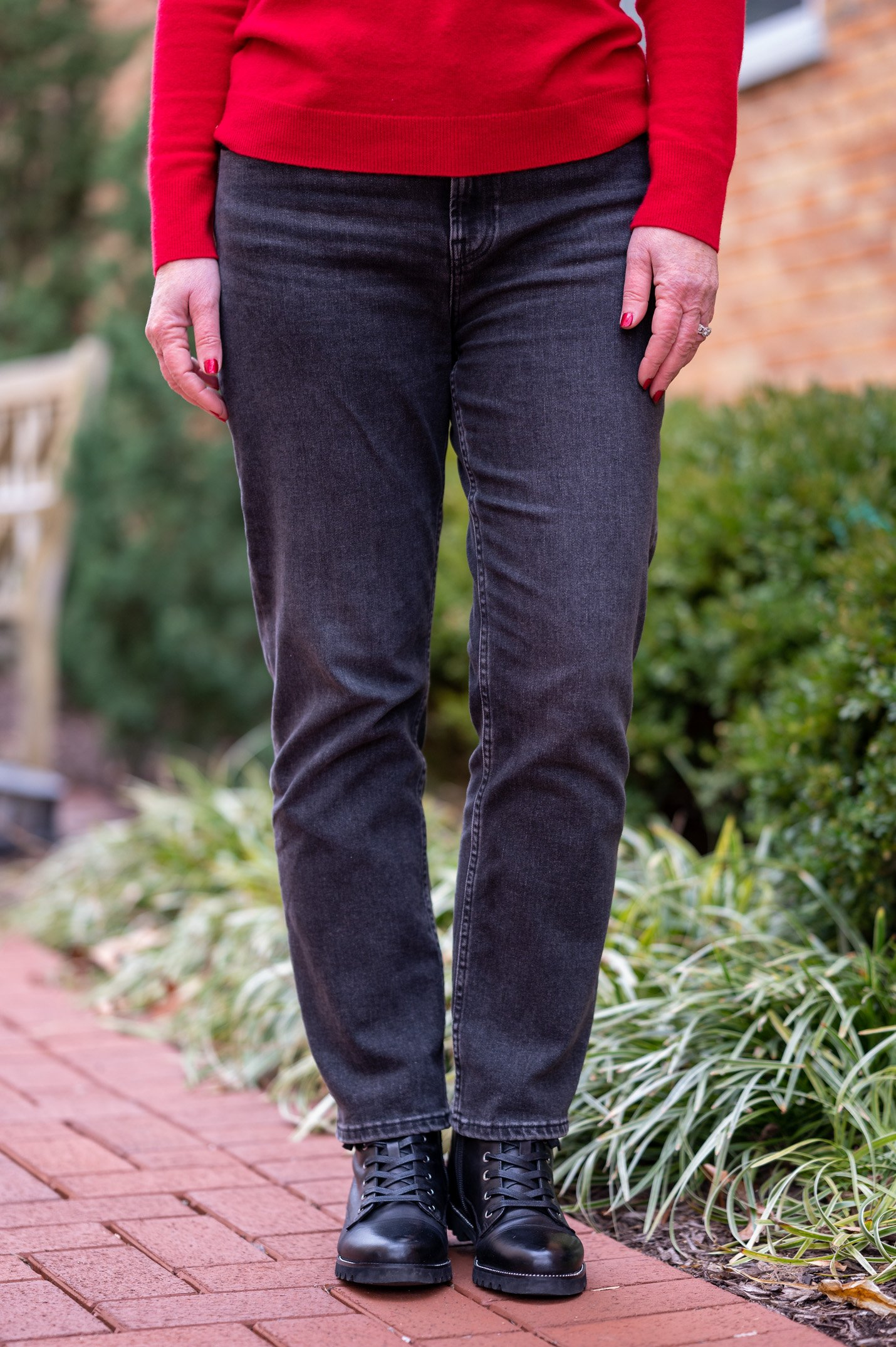 Black Jeans from Everlane
