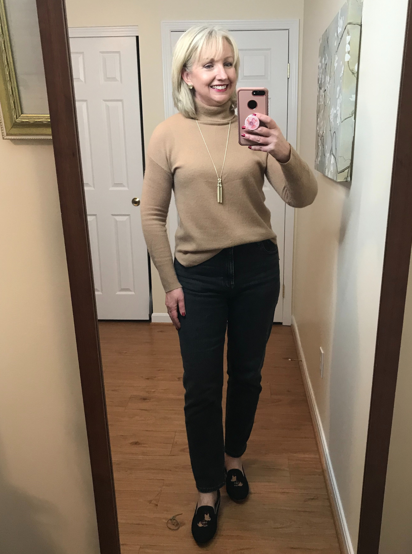 Friday work from home outfit