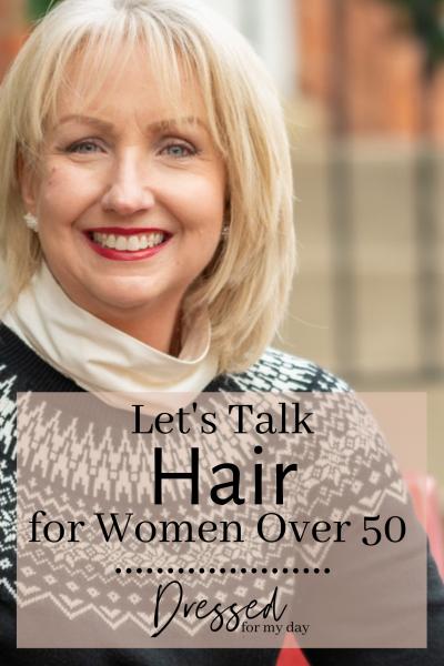 Let's Talk Hair for Women Over 50