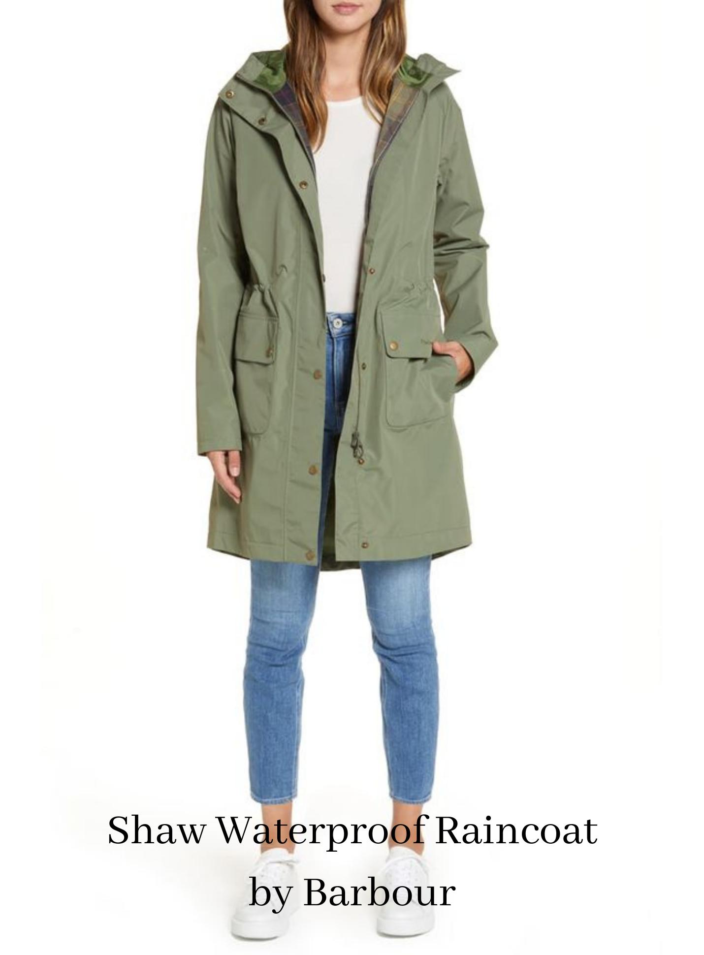 Shaw Waterproof Raincoat