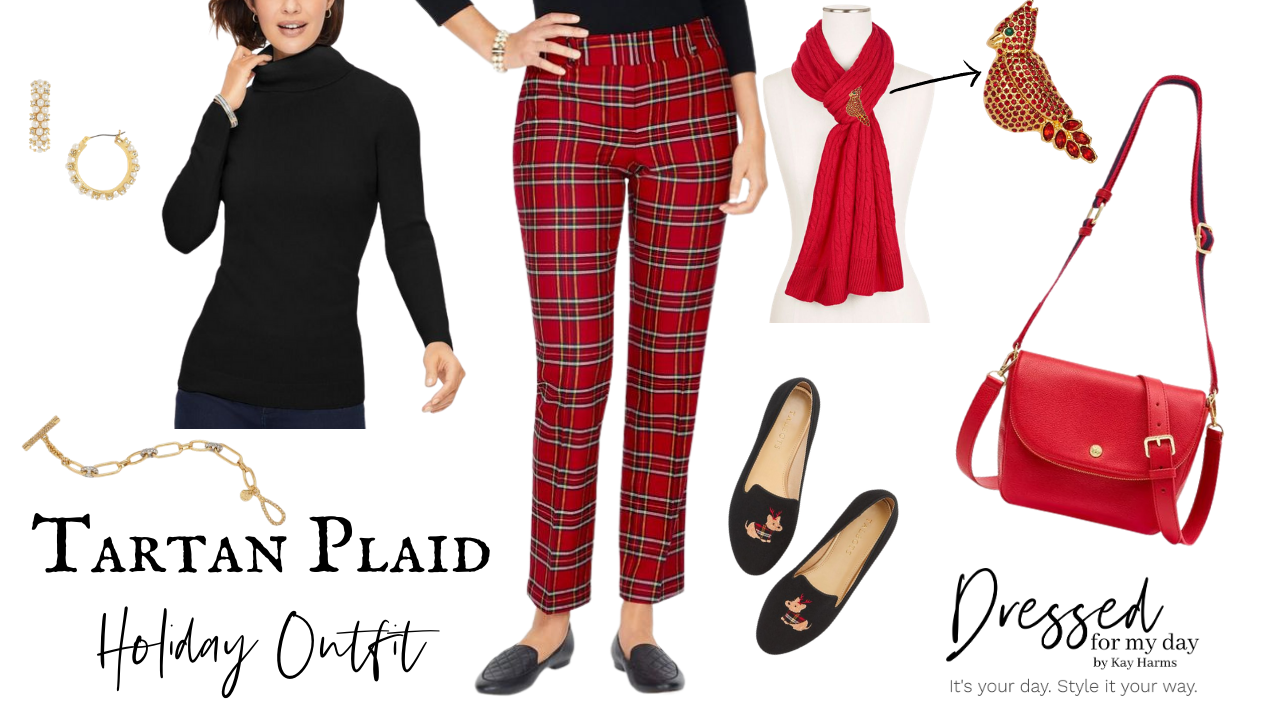 Tartan Plaid Holiday Outfit