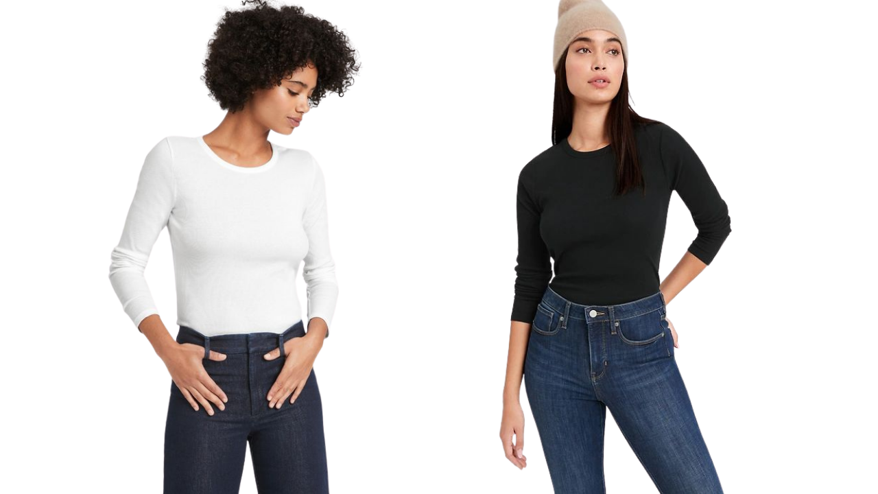 Layering Tees from banana Republic