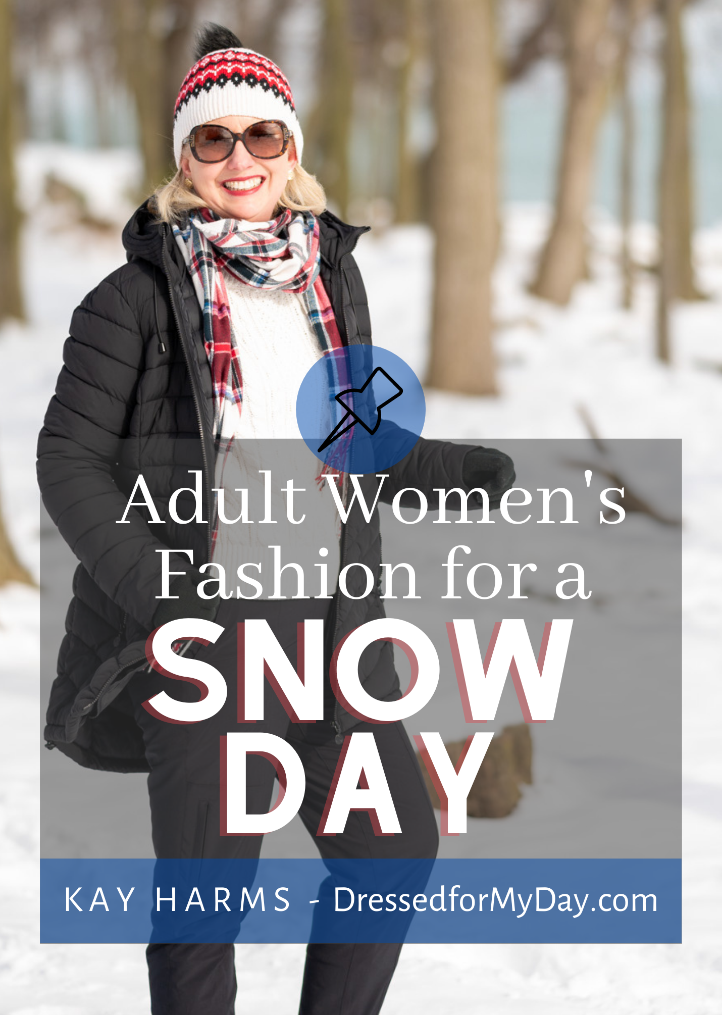 Adult Women's Fashion for a Snow Day