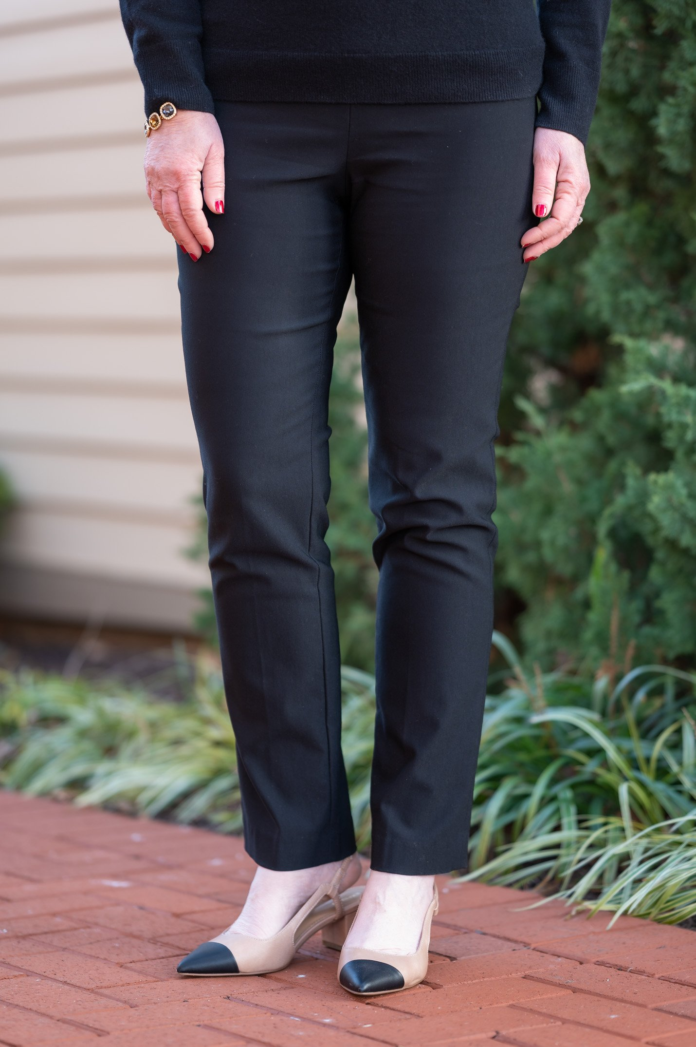 Winter Classics Black Pants