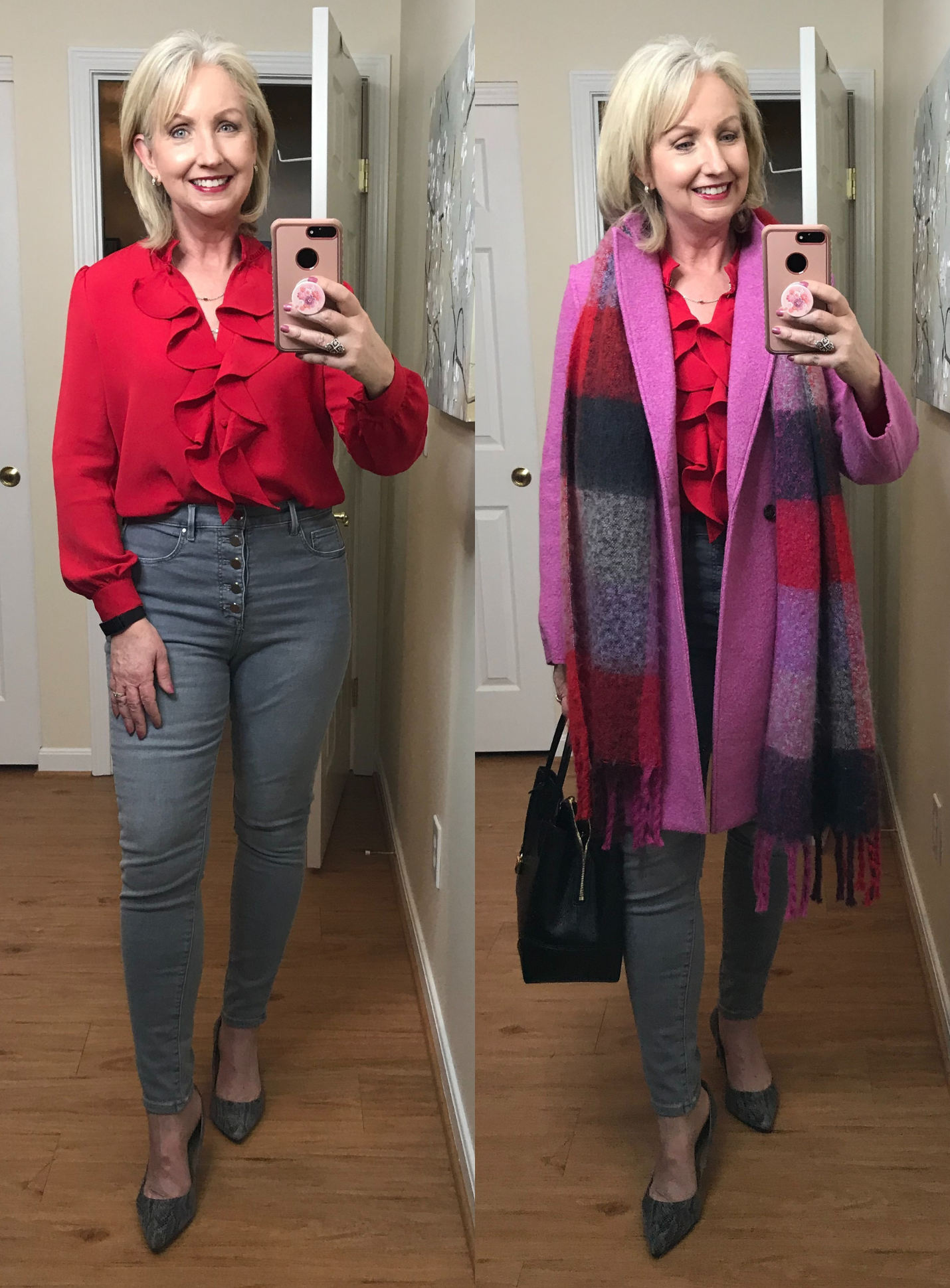 How I Really Dressed for My Anniversary Dinner