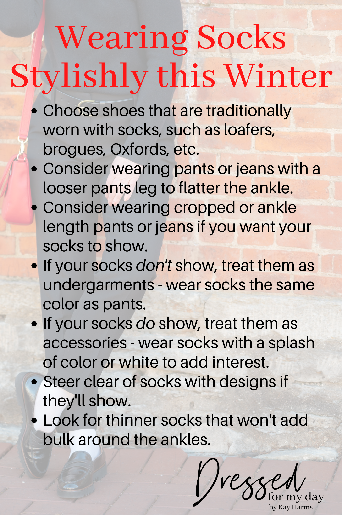 How to Wear Socks Stylishly this Winter