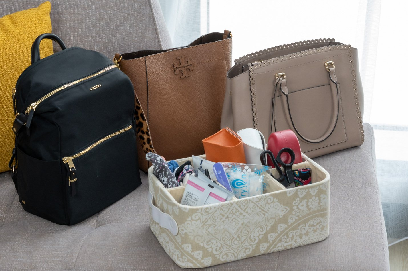 Organizer and Purses