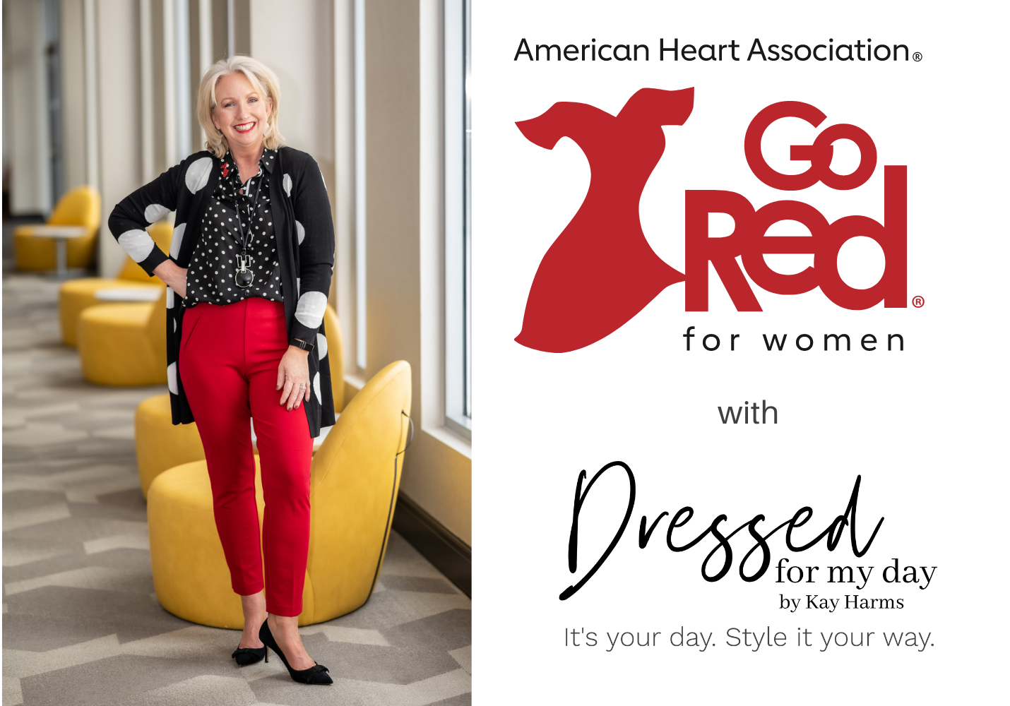 Go Red for Women with Dressed for My Day