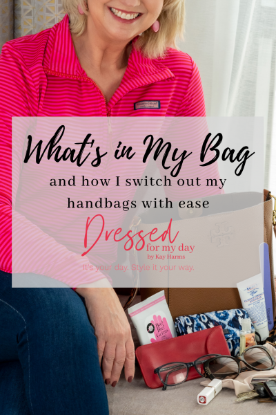 What's in My Bag and How I Switch Out My Handbags with Ease