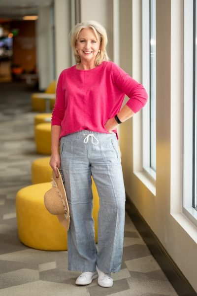 LInen Pants from Athleta