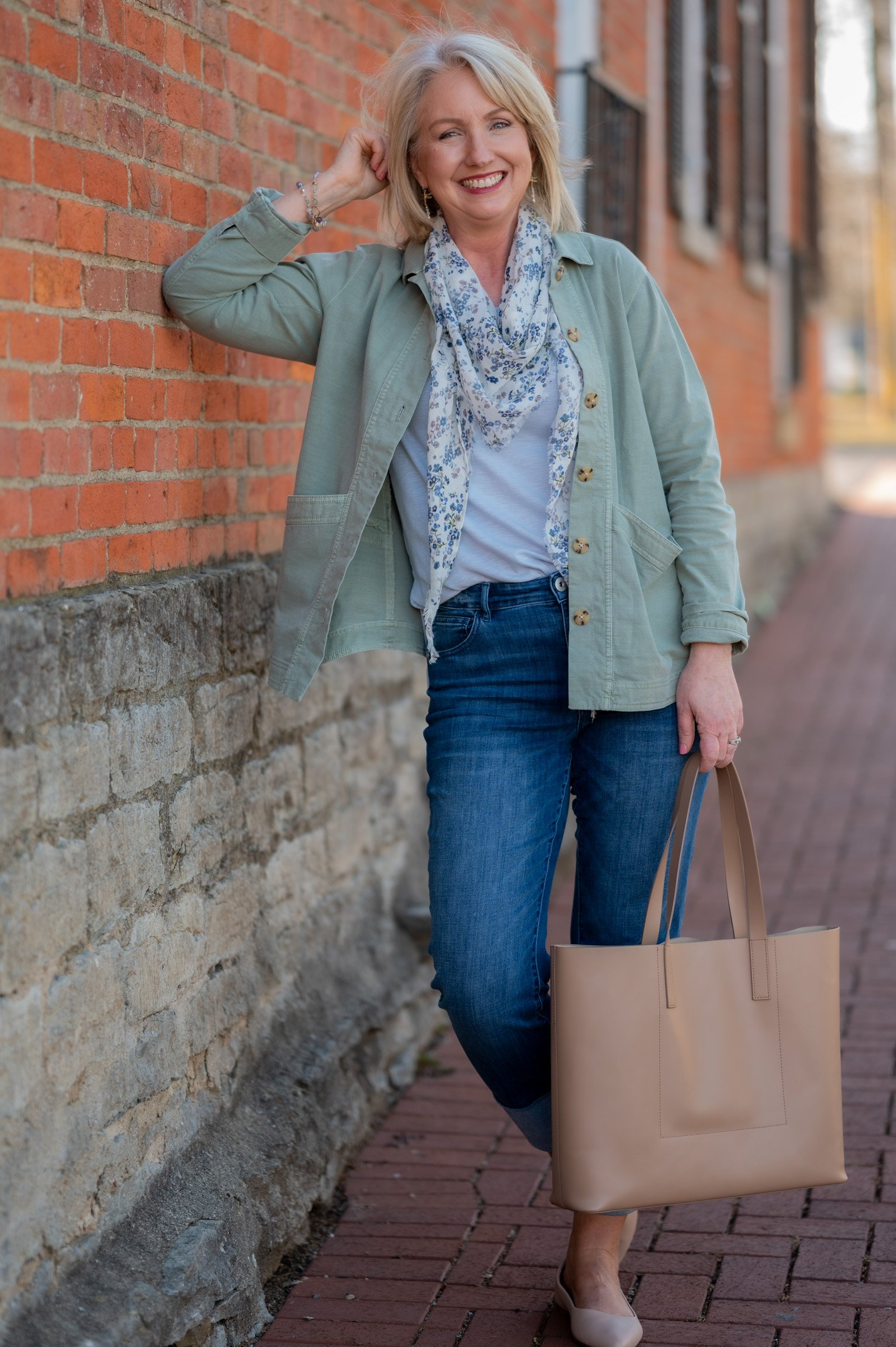 Modern Barn Coat Outfit
