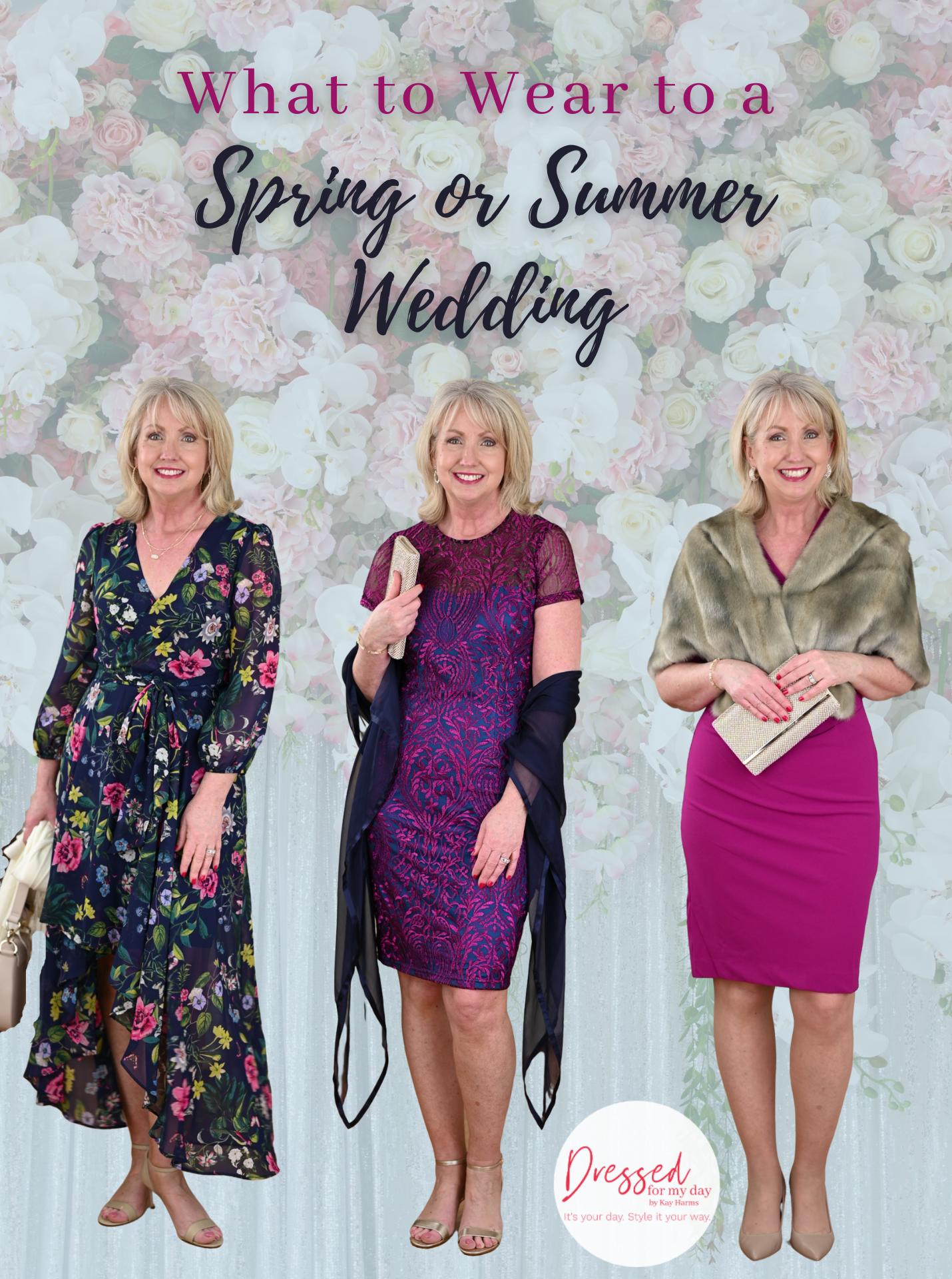 Spring or Summer Wedding Guest