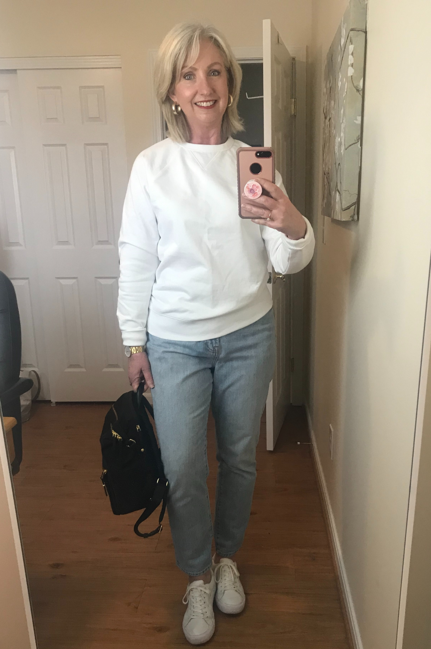 What I Wore Tuesday Running Errands and working at home
