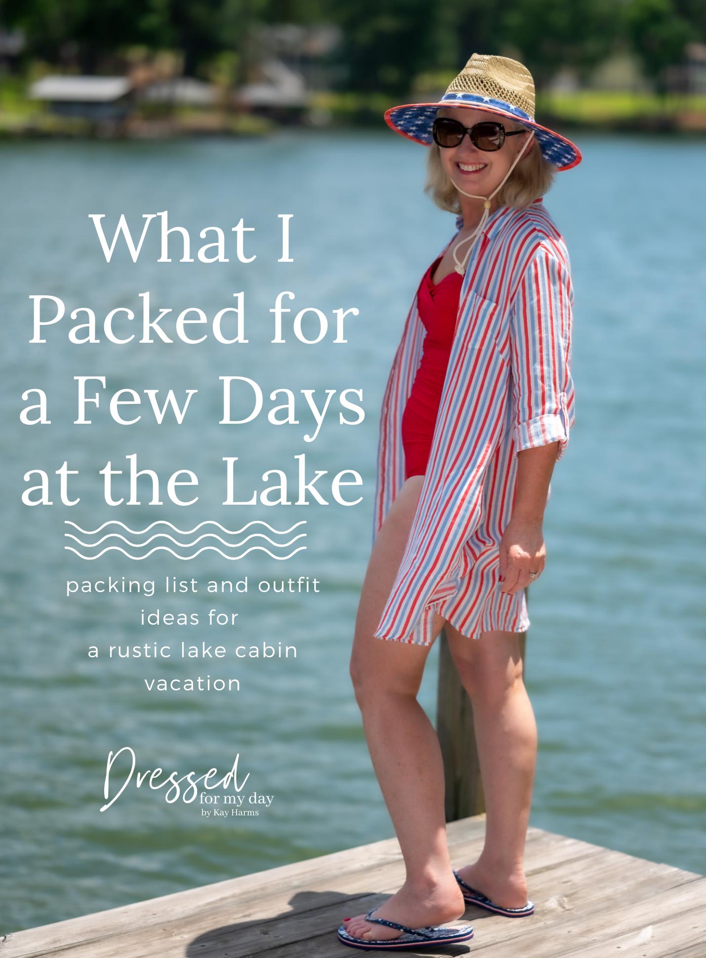 Casual Lake Vacation Wardrobe