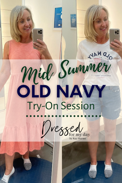 Old Navy Try-On Session